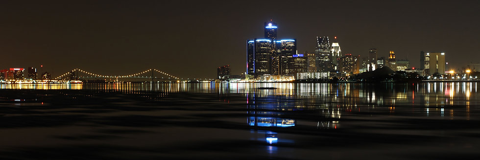Detroit - Night Reflections