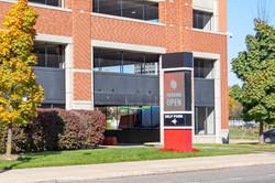 Monroe parking entrance - 1z3a8671
