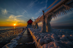 Icy glow - Grand Haven