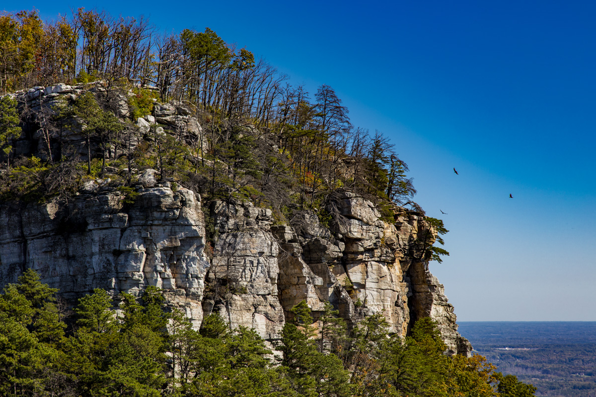 Right face - Pilot Mountain