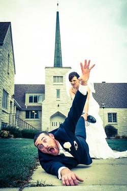 drag the groom