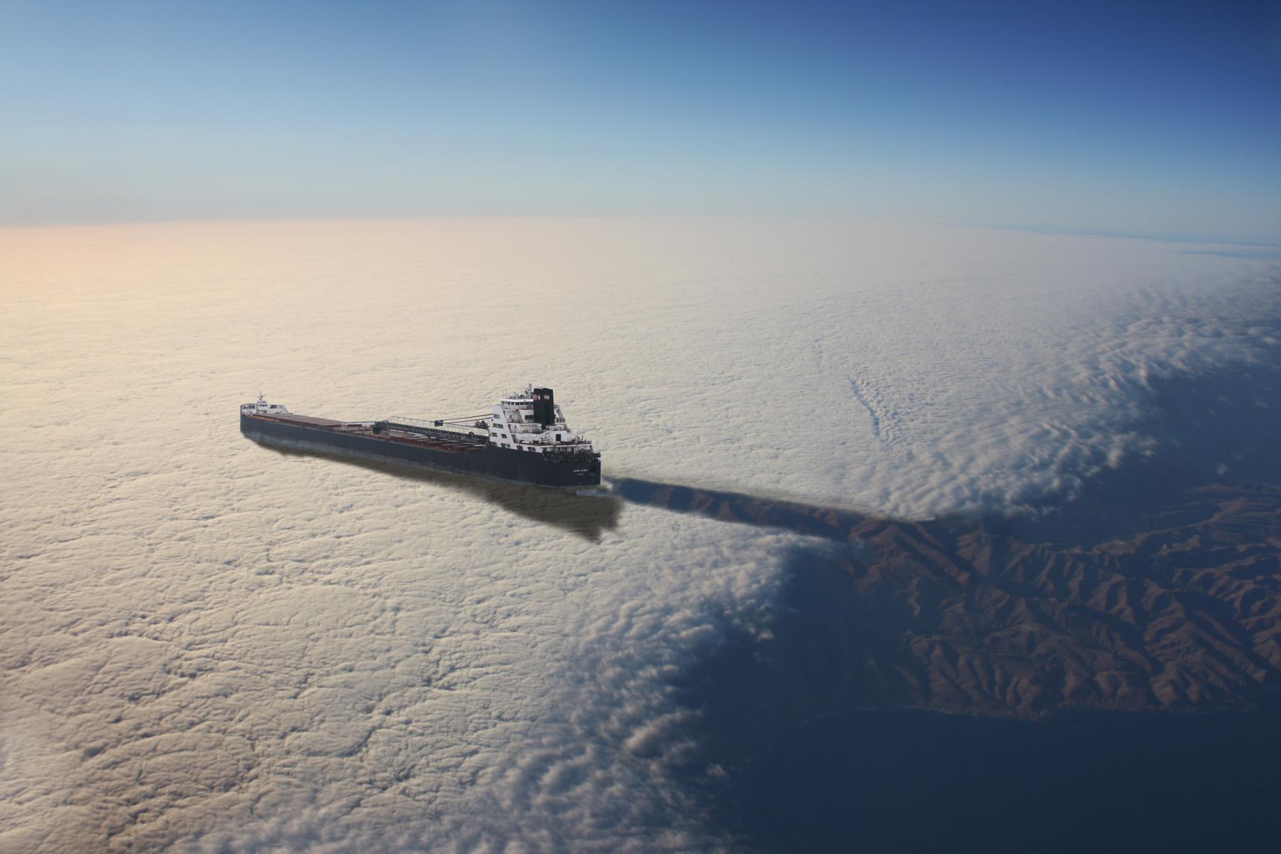 Sky shipping