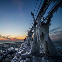 Beards of ice