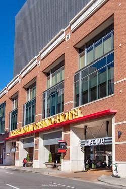 Hotel front entrance - 1z3a8633