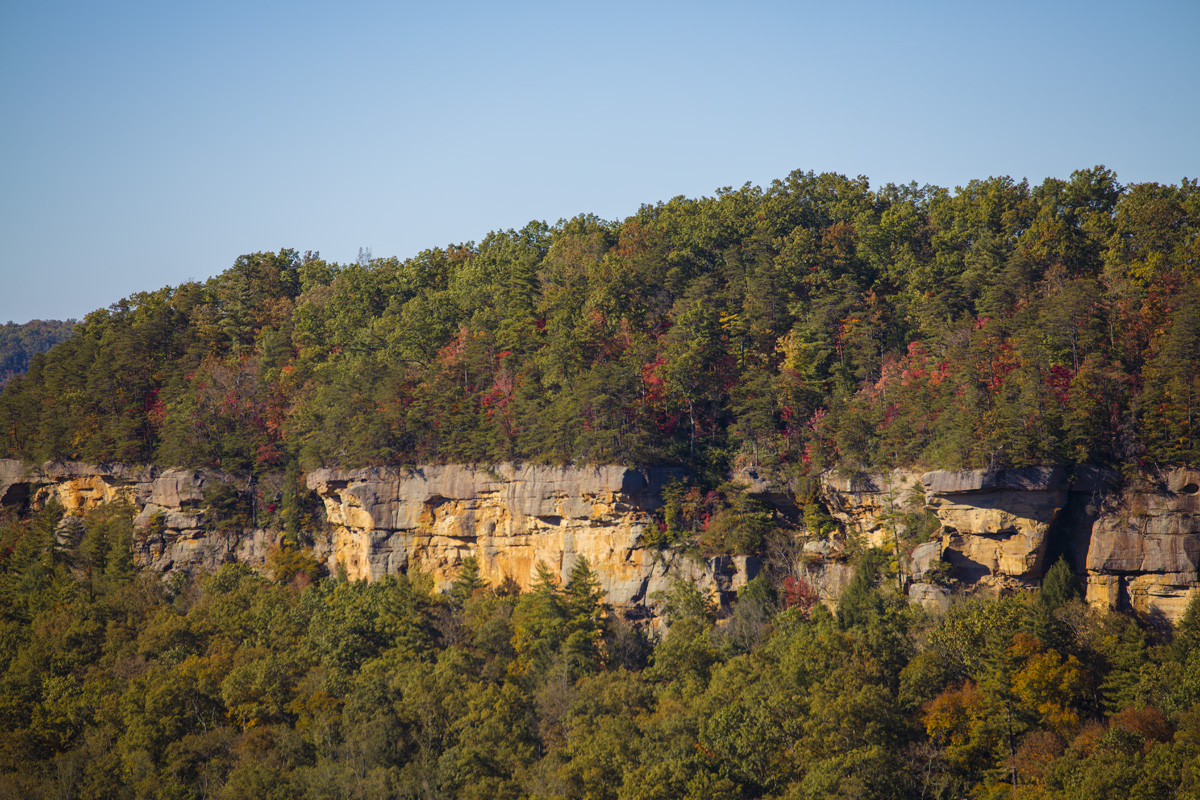 Cliff and Fall Colors