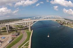 The Blue Water Bridge