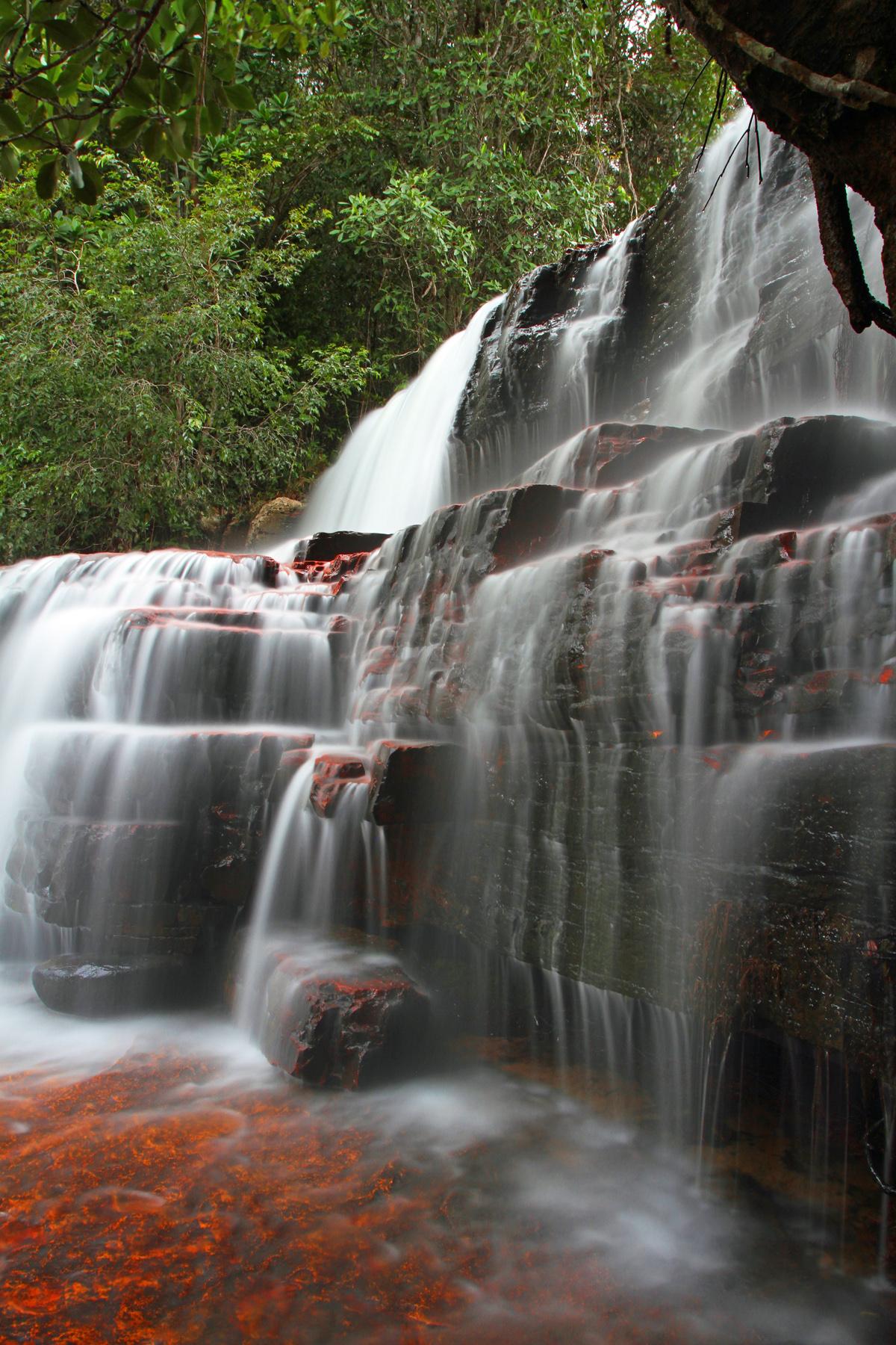 Jasper Falls - side view