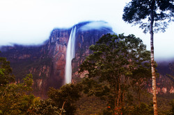 Angel Falls in the evening