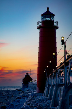 Twin towers at Grand Haven