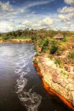 Cliffs on the River Yuruaní
