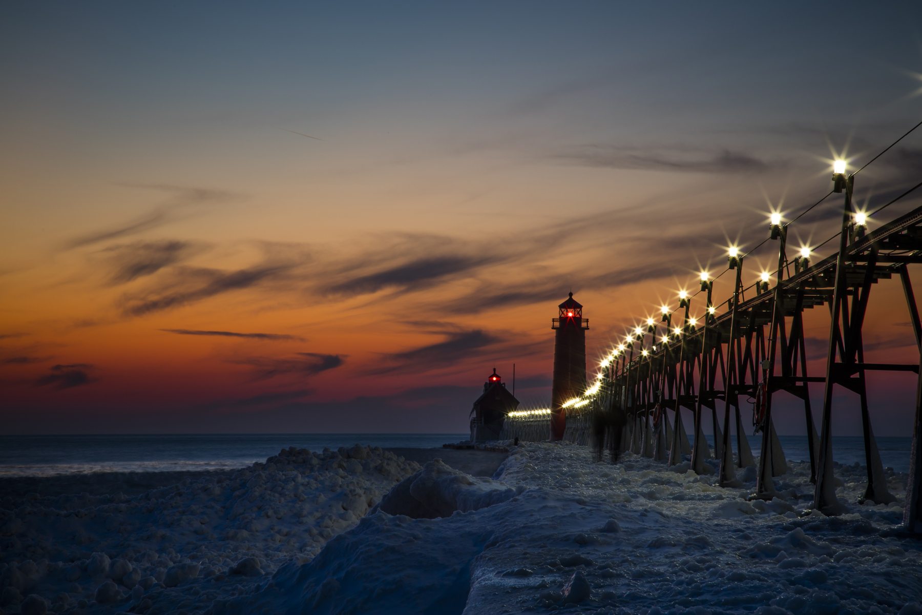 Sunset - Grand Haven