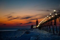 Sunset - Grand Haven
