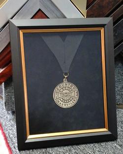 Medallion Shadow box
