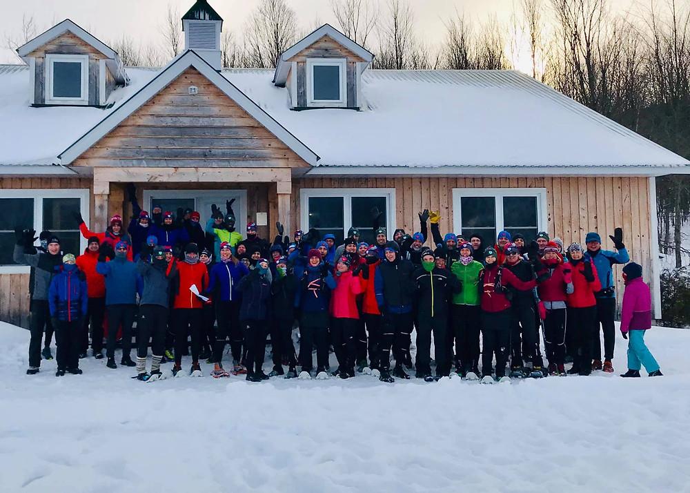Party d'hiver du Club de trail de Bromont