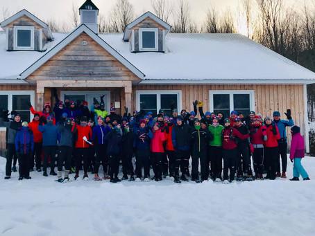 Nous sommes...  coureurs des neiges!
