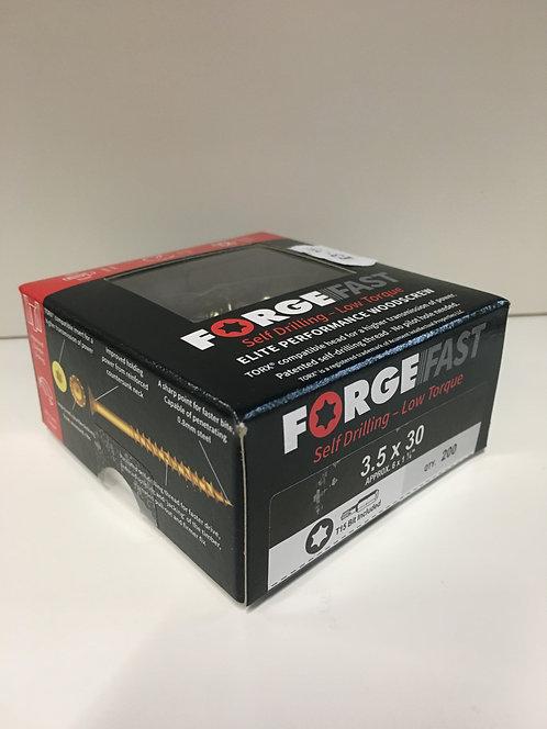 Forgefast 3.5 x 30mm Elite Performance Torx Woodscrews 200 Pack