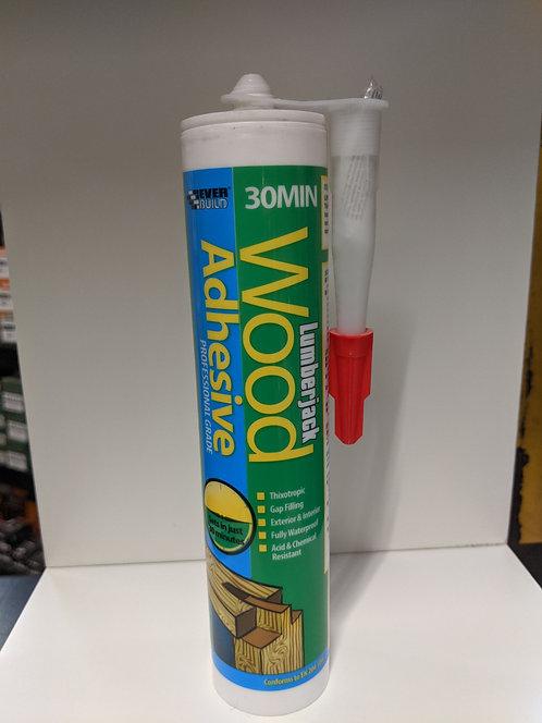 Lumberjack 30 Minute Polyurethane Wood Adhesive Gel