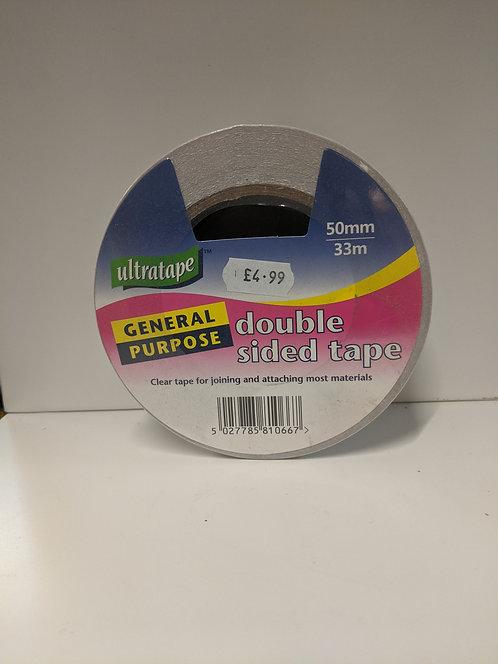 Ultratape Double Sided Tape 50mm x 33m