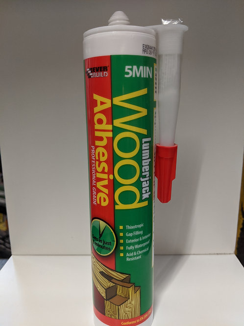 Lumberjack 5 Minute Polyurethane Wood Adhesive Gel
