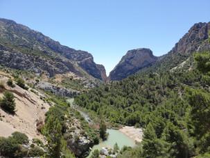 området omkring El Chorro