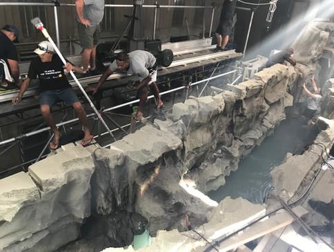 Fantasy Island Cave Set STAGE