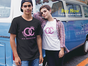 couple-wearing-different-round-neck-tees-mockup-against-a-blue-van-a16443.png