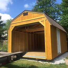 12x20 Lofted garage