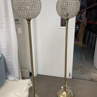 Crystal Goblet Floor Lamps