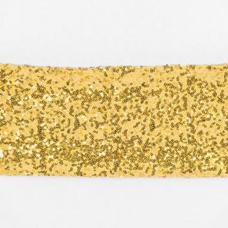 Gold Sequin Sash