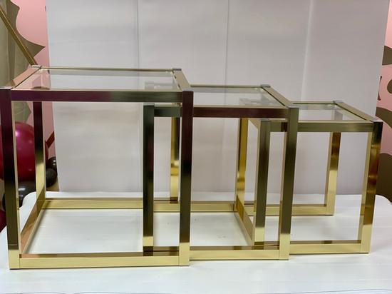 Nesting Tables Metal