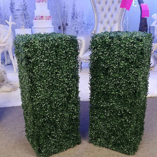 Grass Square Columns