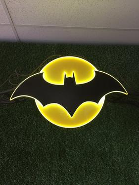 Batman Logo Backdrop Prop