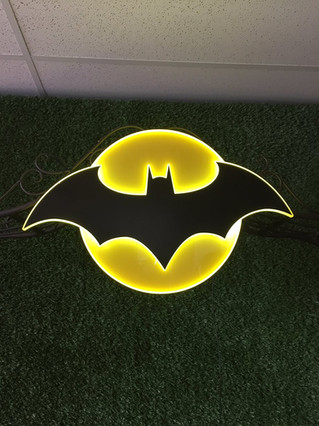 Batman Logo Backdrop Prop