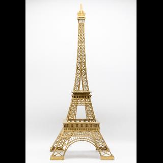 Eiffel Tower Centerpiece Gold 25inch