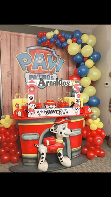 Copy of PAW PATROL TABLE MARSHALL TABLE