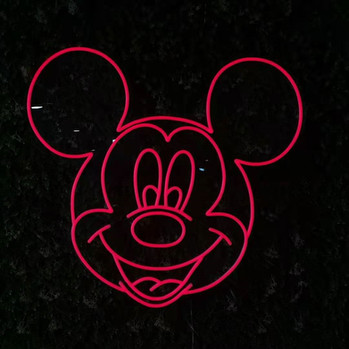 Neon Sign Mickey Mouse
