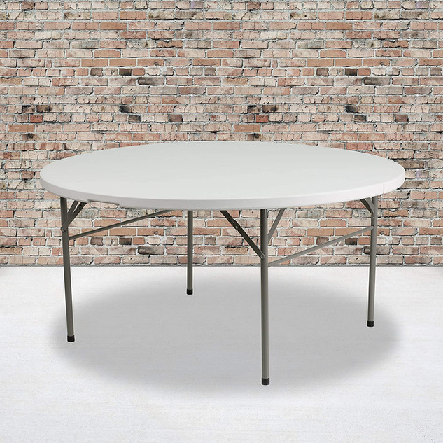 Folding Table Round 5ft