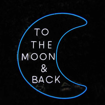 Neon To the Moon and Back