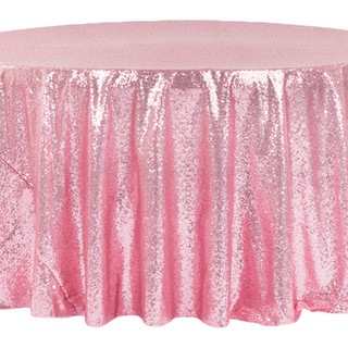 Sequin Tablecloth Pink