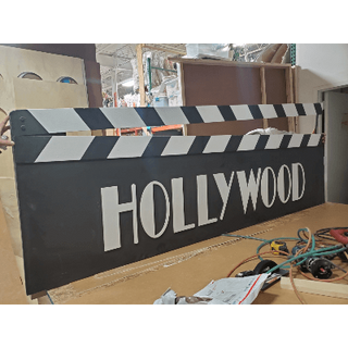 Backdrop Prop Hollywood Sign