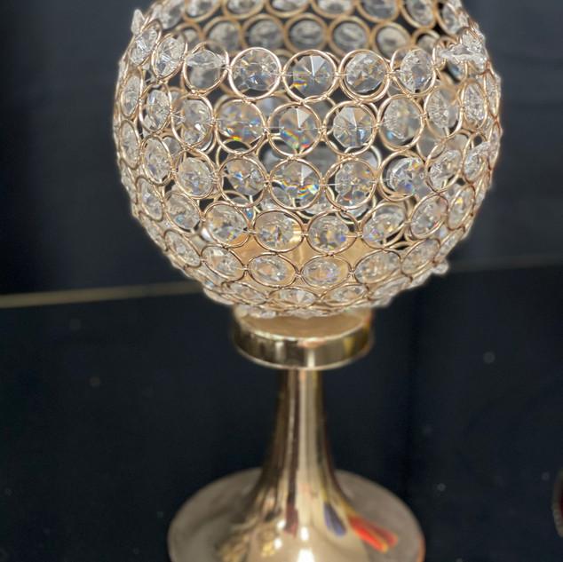 Goblet Gold Crystals $25