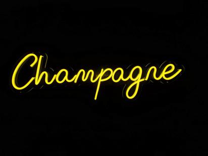 Neon Champagne