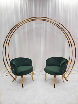 3 Layer Metal Arch in Gold