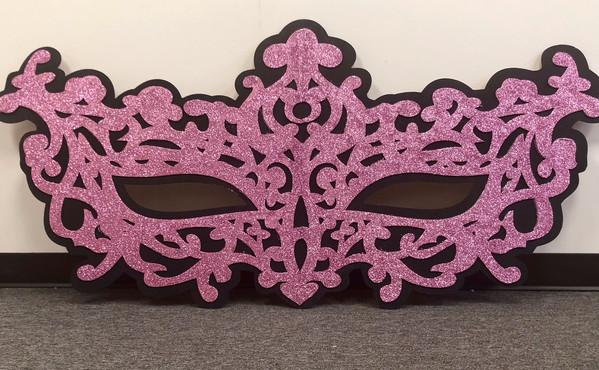 Masquerade Pink Black