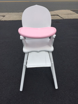 Baby High Chair Antique