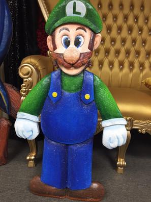 3D Standup Prop Luigi