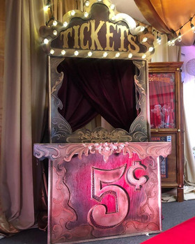 Theme Circus_Carnival Ticket Booth