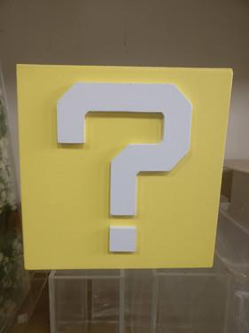 Column Question Mark 16 inch