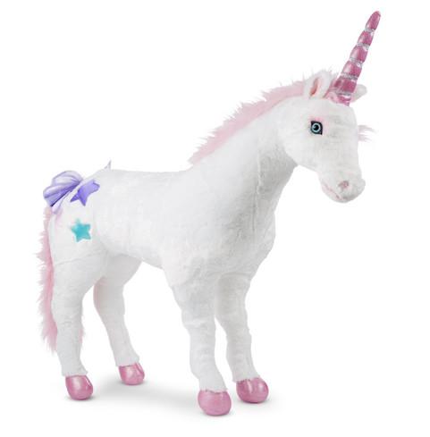 Unicorn Standing Stuffed