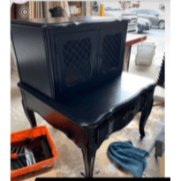 Side Table with Doors